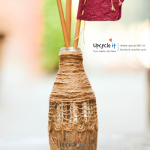 Upcycle it Bottle Decor Chennai